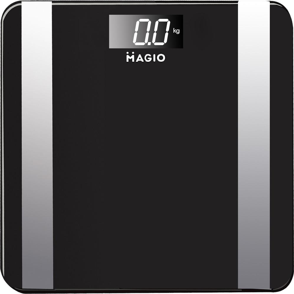Весы электронные Magio MG-808, 150 кг, Black
