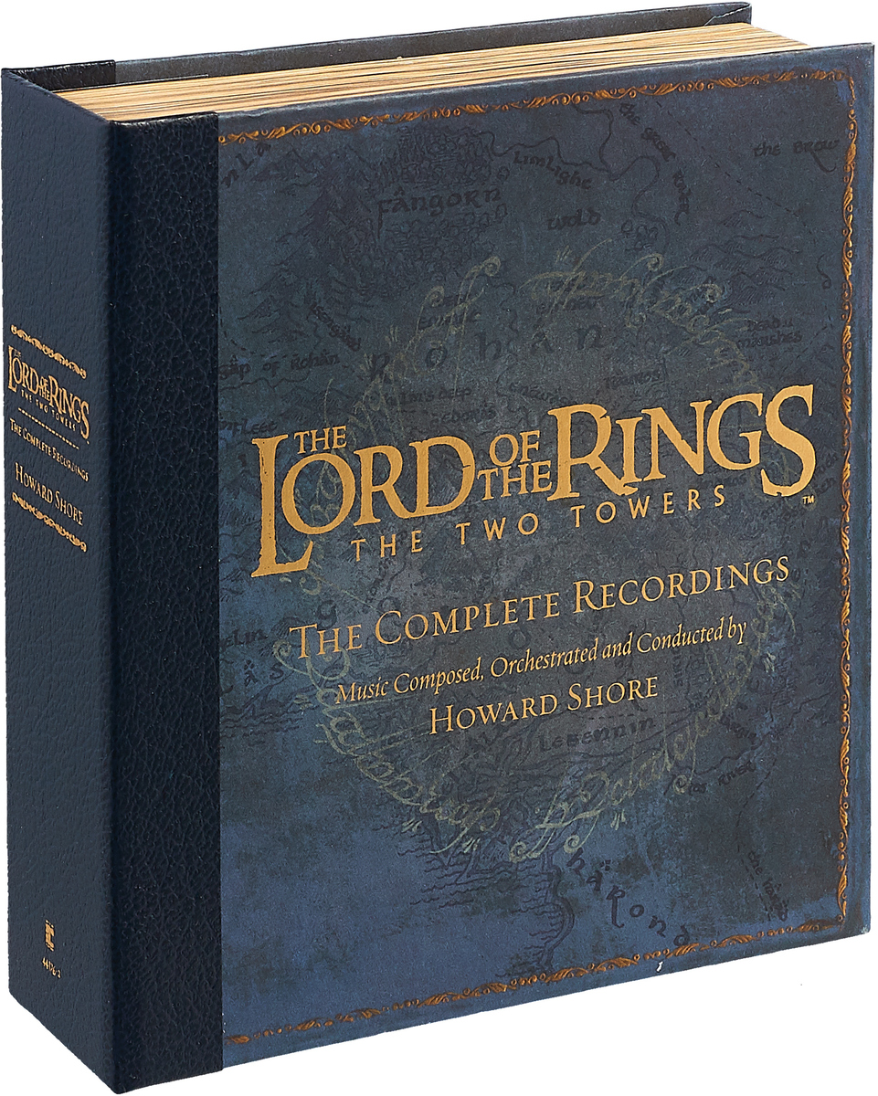 Howard Shore - Lord Of The Rings: The Two Towers (2002, CD