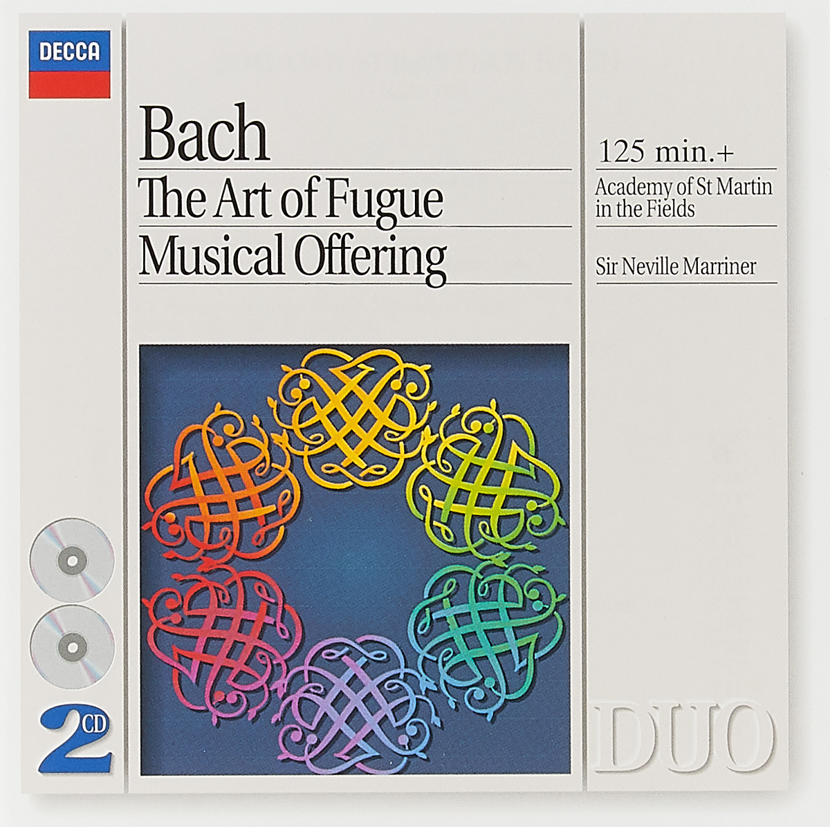 NEVILLE MARRINER. J.S. BACH - THE A