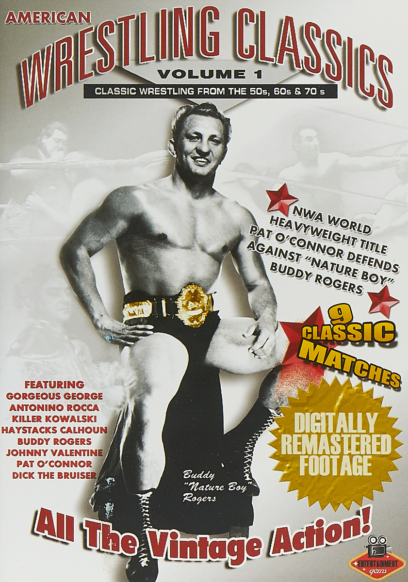 American Wrestling American Wrestling. American Wrestling Classics Volume 1. Classic Wrestling From The 50'S, 60'S & 70'S одежда wrestling team russia