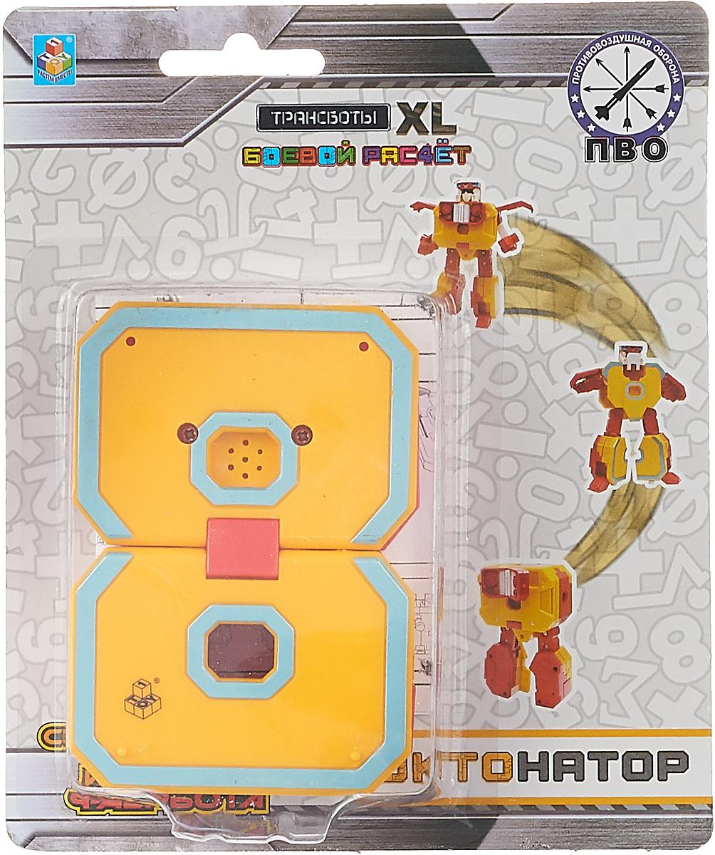 Трансформер 1TOY Боевой расчет ПВО. Трансботы XL, цифра 8 ailooge 8 xl