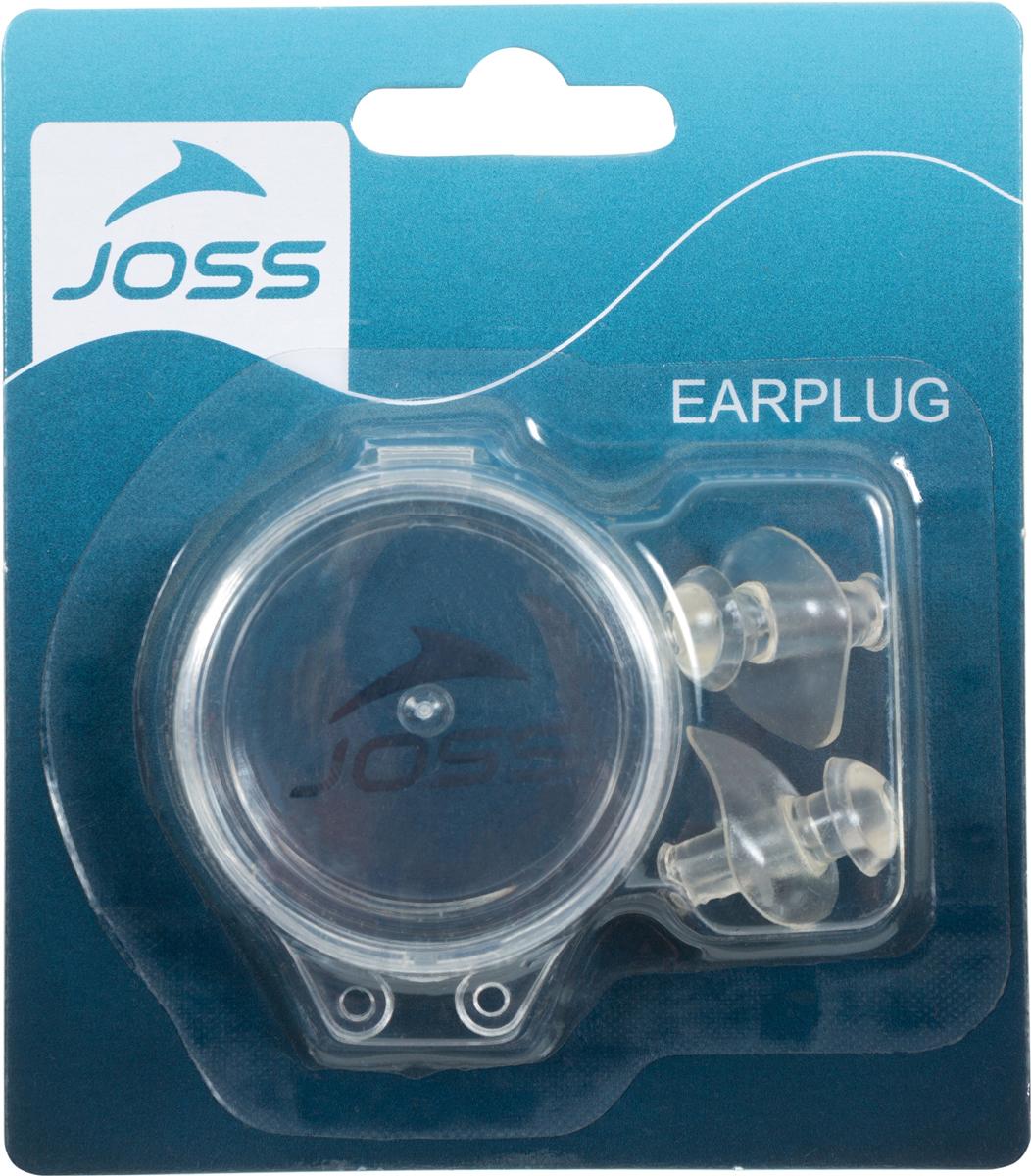 Беруши для плавания Joss Earplugs, цвет: прозрачный. Размер универсальный