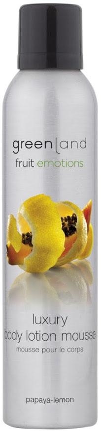 Лосьон-мусс для тела Greenland, папайя-лимон, 200 мл все цены