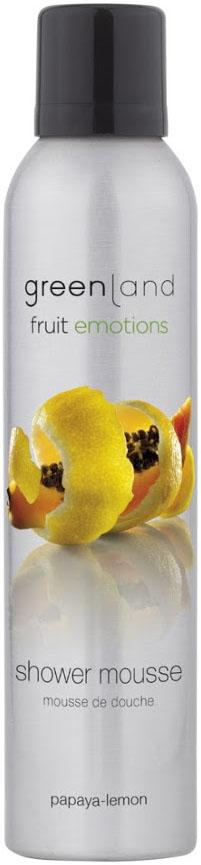 Мусс для душа Greenland, папайя-лимон, 200 мл