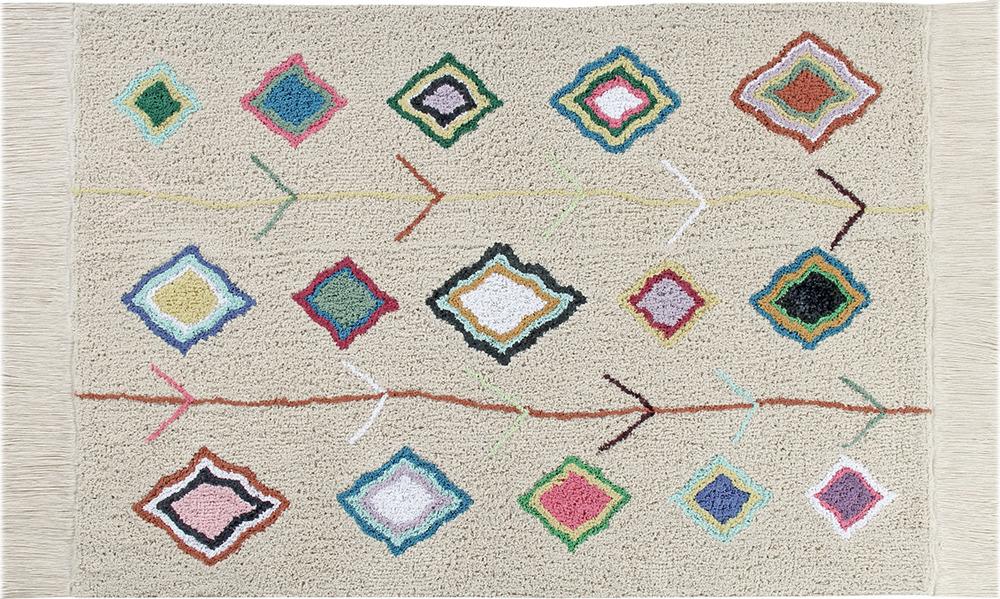 Коврик для детской Lorena Canals Kaarol, 2 х 1,4 мC-KAAROLДетская коллекция Ковер от Lorena Canals - очень полезная вещь в детской комнате! Ребёнку будет намного комфортнее ползать, сидеть и играть на теплом, мягком, красивом ковре. Большое разнообразие форм, цветовых решений, рисунков и текстур позволят подобрать ковёр для любого стиля. А дети, несомненно, будут в восторге от ковриков в форме печенья, облачка, сердечка или кораблика! Считаете что ковры собирают пыль? С нашими коврами этой проблемы не существует, просто сверните его и постирайте в машинке! Изделия Lorena Canals отвечают всем стандартам качества и безопасности товаров для детей. При их изготовлении не используются токсичные красители и химические вещества. Ковры из хлопка можно стирать в стиральной машинке в режиме деликатной стирки и сушить в барабанной сушке. Коллекция ковров для дома Lorena Canals выпускает стираемые ковры не только для детских комнат, но и для всего дома! Дизайнеры марки внимательно следят за современными тенденциями, поэтому ковры и аксессуары Lorena Canals всегда на пике моды. Природные и этнические мотивы, геометрические узоры, фактурные детали – всё это вы найдёте в коллекциях испанской марки. Качество Продукция отвечает всем стандартам качества и безопасности товаров для детей Изделие ручной работы Могут наблюдаться незначительные вариации цвета и размера продукта При изготовлении изделий не используются токсичные красители и загрязняющие вещества Изделия проходят проверку на отсутствие иголок и других металлов Произведено в Индии Состав: 10...