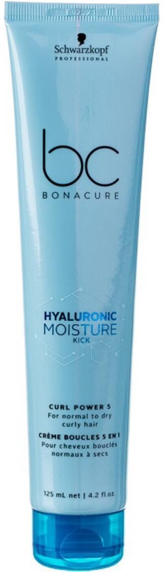 Крем для волос гиалуроновый Schwarzkopf Professional Bonacure Hyaluronic Moisture Kick, 125 мл bonacure интенсивное увлажнение шампунь moisture kick 1000 мл