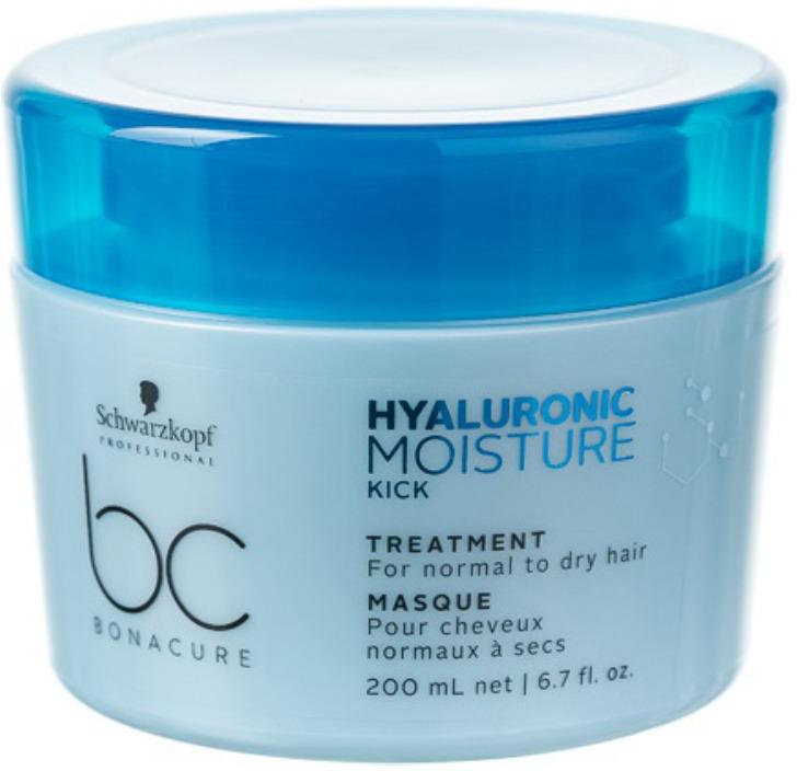 "Маска для волос интенсивно увлажняющая Schwarzkopf Professional Bonacure ""Hyaluronic Moisture Kick"", 200 мл"