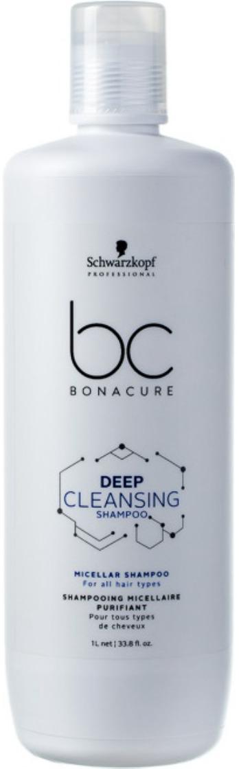 """Шампунь для волос мицеллярный для глубокого очищения Schwarzkopf Professional Bonacure """"Deep Cleansing"""", 1 л"""