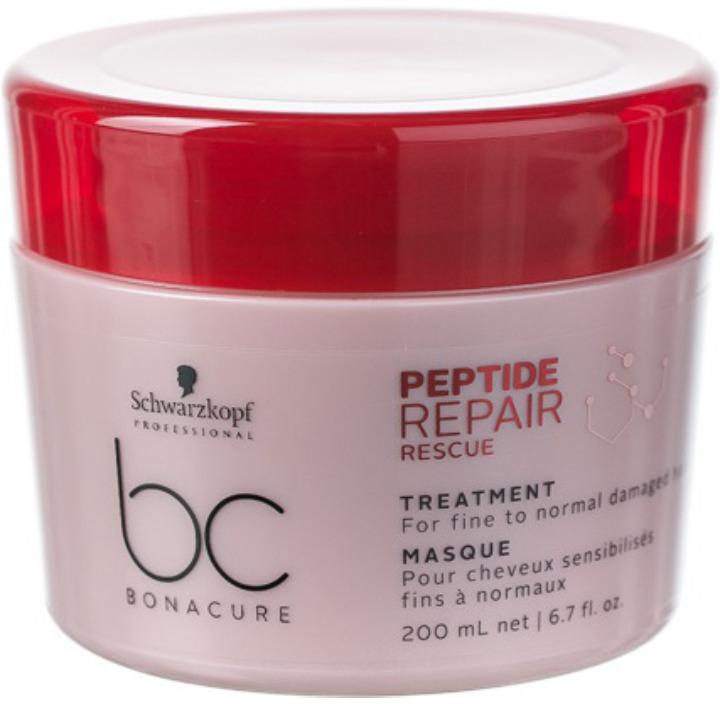 Маска для волос Schwarzkopf Professional Bonacure Peptide Repair Rescue, 200 мл schwarzkopf professional маска bc peptide repair rescue 200 мл