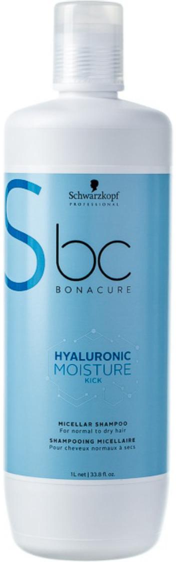 Шампунь для волос мицеллярный Schwarzkopf Professional Bonacure Hyaluronic Moisture Kick, 1 л bonacure интенсивное увлажнение шампунь moisture kick 1000 мл