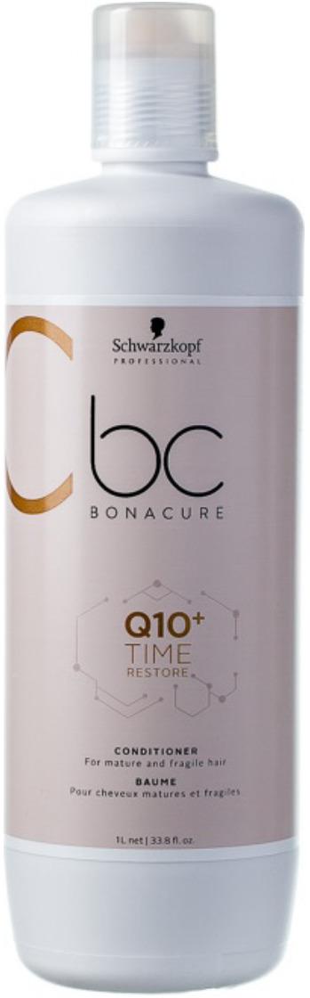 Кондиционер смягчающий Schwarzkopf Professional Bonacure Q10+ Time Restore, 1 л schwarzkopf кондиционер смягчающий q10 time restore 200 мл