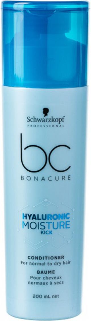 Кондиционер увлажняющий Schwarzkopf Professional Bonacure Hyaluronic Moisture Kick, 200 мл schwarzkopf bc hyaluronic moisture kick spray conditione спрей кондиционер 200 мл