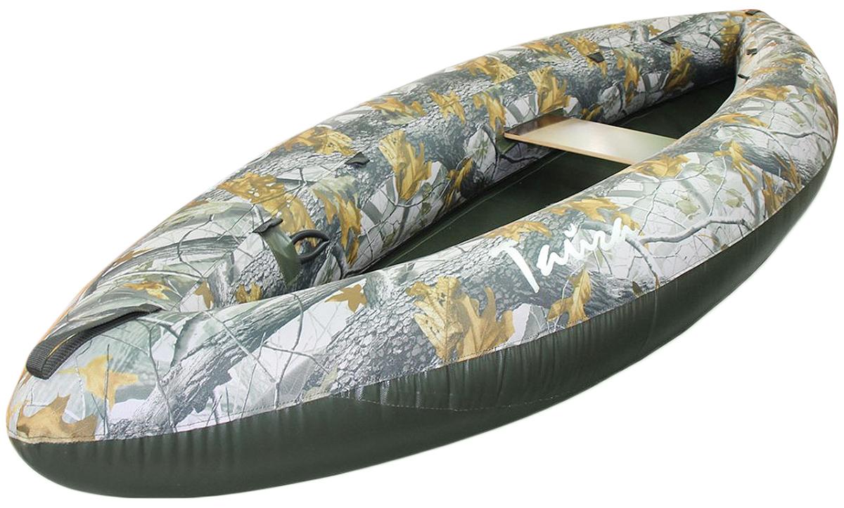 Лодка Вольный ветер Тайга 280, цвет: зеленый