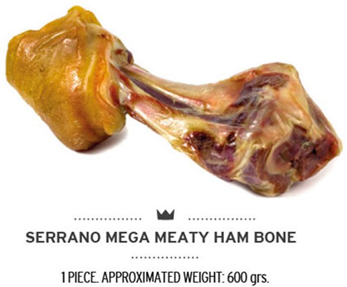 Лакомство для собак Mediterranean Ham Bones, гигантская кость, 600 гF68066