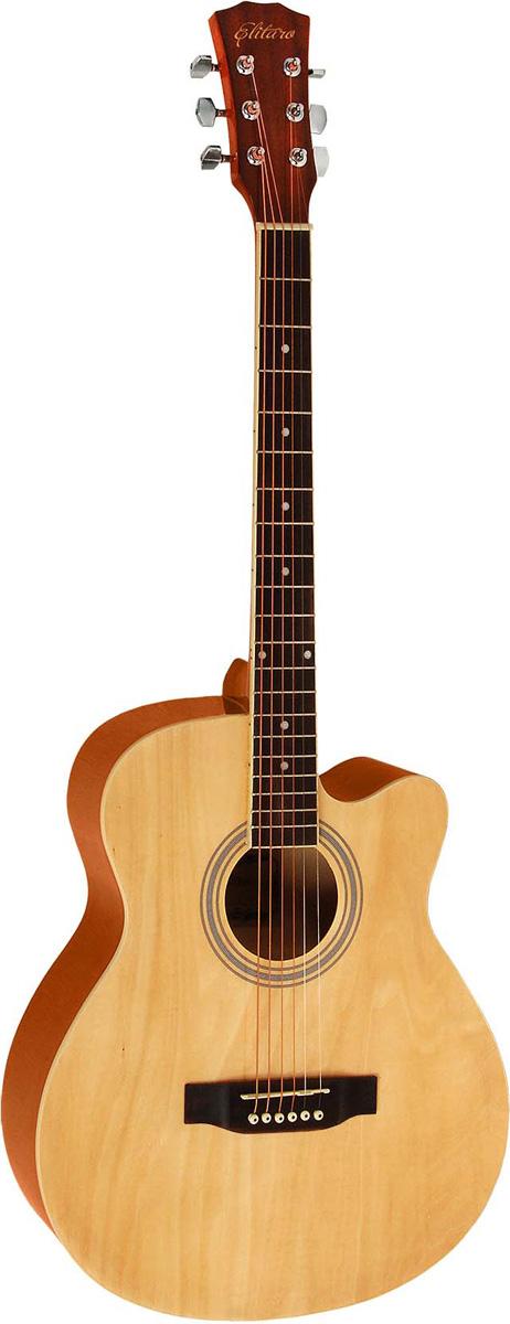 Elitaro E4010C , Yellow акустическая гитара