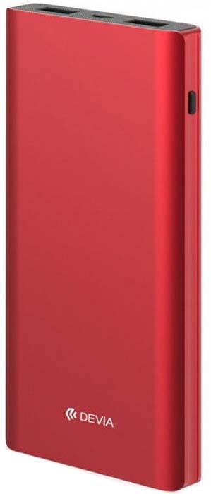 Фото - Аккумулятор внешний Devia King Kong QC3.0, 10000 mAh, цвет: красный аккумулятор