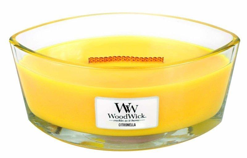 Ароматическая свеча Woodwick Цитронелла, эллипс ароматическая свеча woodwick гранат эллипс