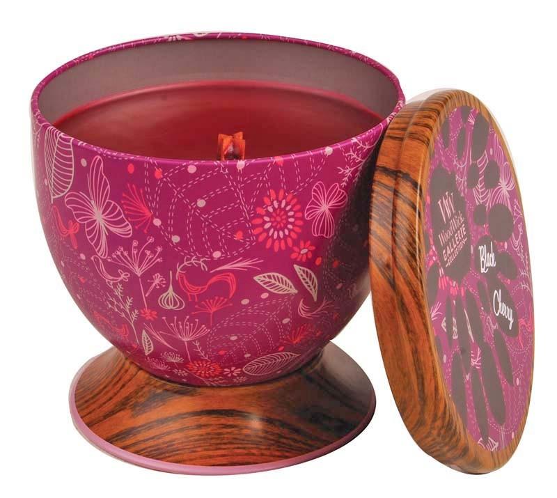 Ароматическая свеча Woodwick Спелая вишня, чаша ароматическая свеча woodwick красная смородина и kедр чаша