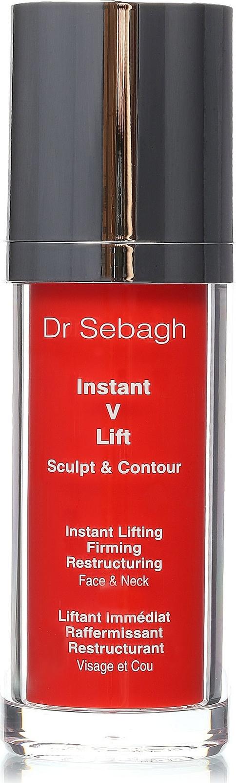 Сыворотка Dr Sebagh V-lift. Мгновенный лифтинг, для лица и шеи, 30 мл dr sebagh концентрированная сыворотка молодости с ресвератролом и трилагеном для лица 60 мл