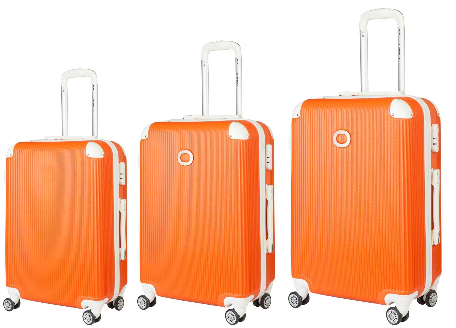 Чемодан Ornelli 3 в 1 , цвет: оранжевый, 21730 цена