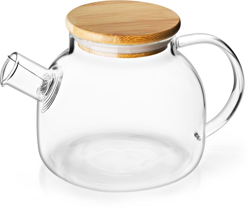 Фото - Чайник заварочный Apollo Lime-Time, цвет: прозрачный, 1 л чайник зав apollo lime time 1л стекло бамбук нерж сталь