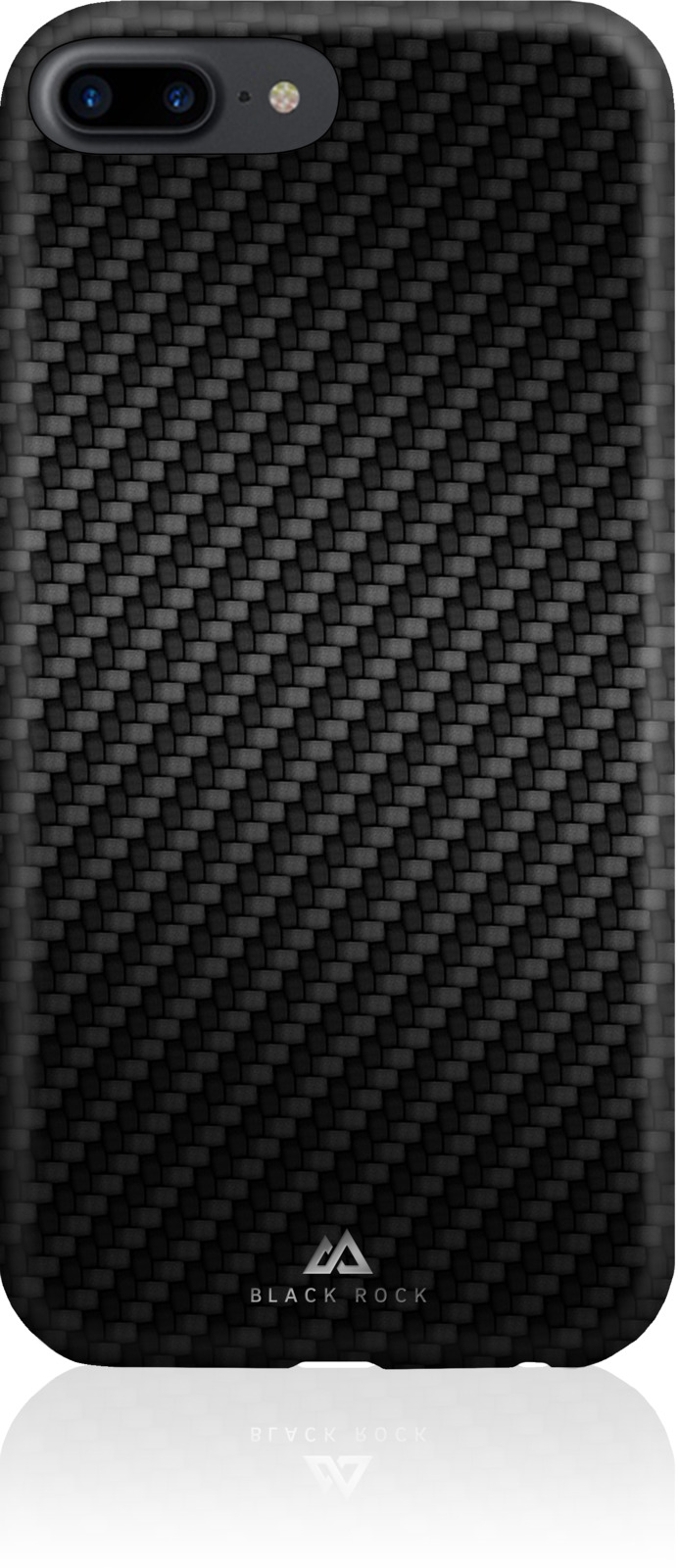 Чехол Black Rock Flex Carbon Case для Apple iPhone 8 Plus / 7 Plus / 6/6S Plus, цвет: черный