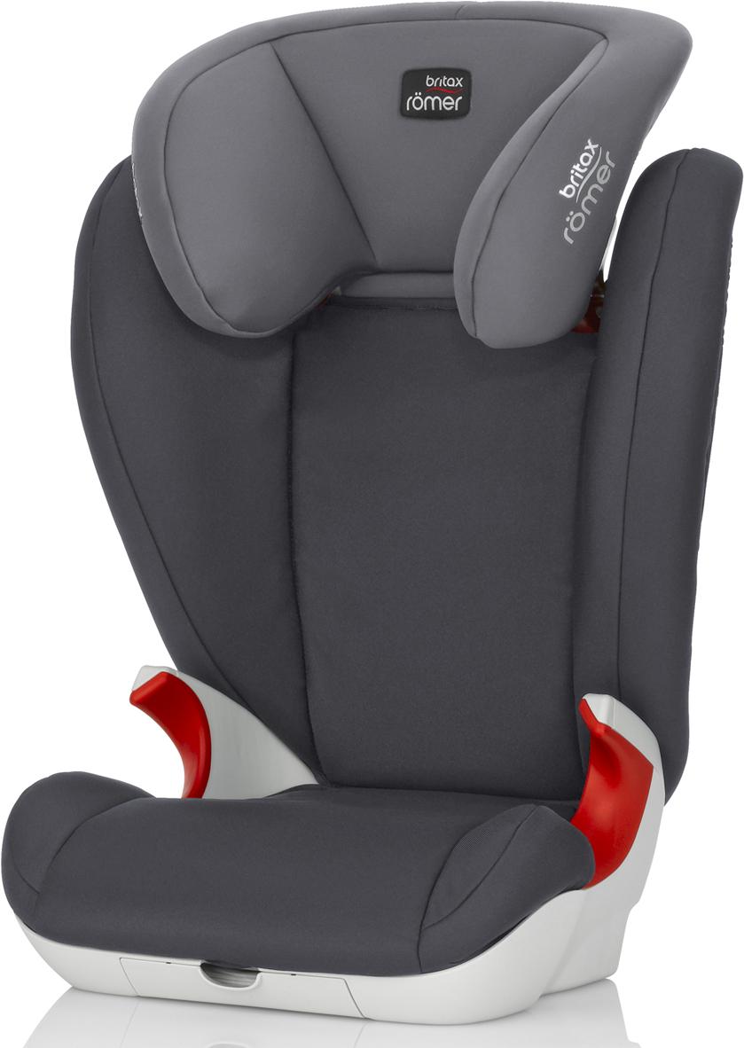 Автокресло детское Britax Roemer Kid II Storm Grey Trendline от 15 до 36 кг, 2000025698, серый цена 2017