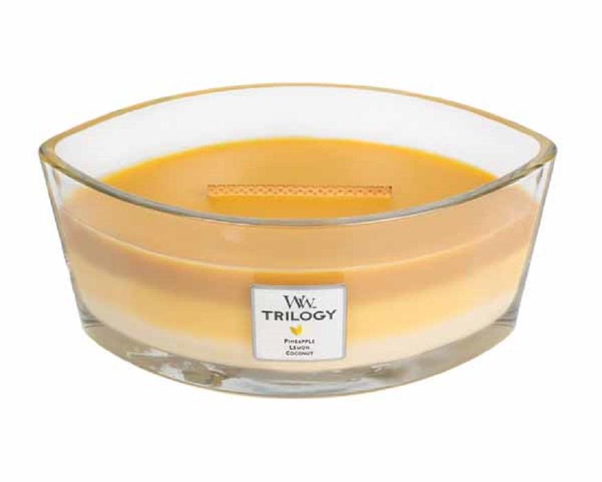 Ароматическая свеча Woodwick Летние фрукты, эллипс ароматическая свеча woodwick гранат эллипс
