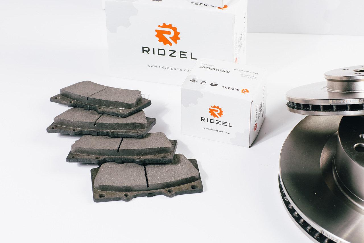 Диск тормозной Ridzel, передний, вентилируемый. DF038