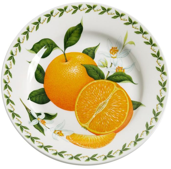 "Тарелка десертная Maxwell & Williams ""Апельсин"", диаметр 20 см"
