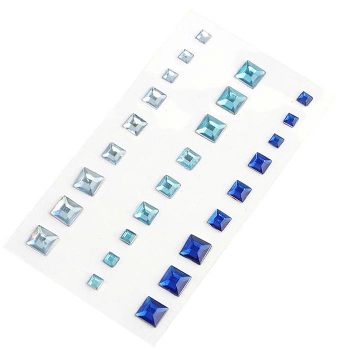 Стразы Magic 4 Hobby, клеевые, цвет: голубой, 4, 6, 8 мм, 27 штMG.GEM.103.3Стразы- самый яркий и броский предмет, украшающий одежду и другие предметы обихода, и являются неизменным атрибутом модного стиля.