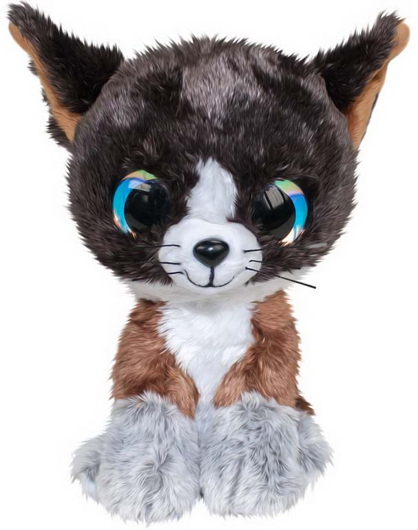 """Мягкая игрушка Lumo """"Котенок Forest"""", цвет: коричневый, 15 см"""
