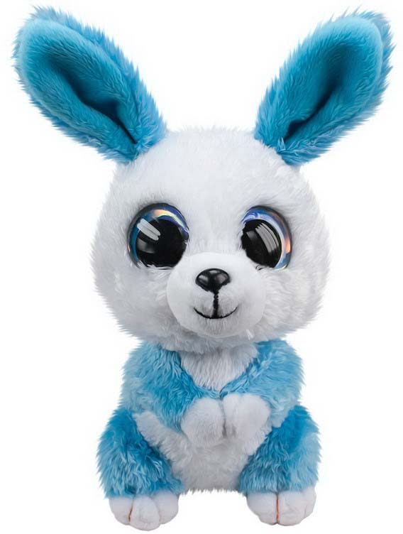 Мягкая игрушка Lumo Кролик Ice, цвет: голубой, 15 см светильник спот brilliant lumo g51229 15