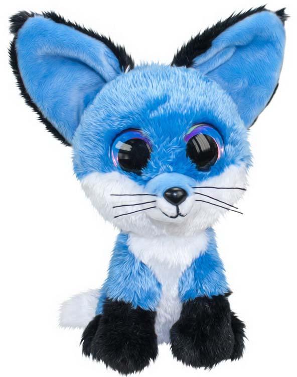 "Мягкая игрушка Lumo ""Лисенок Blueberry"", цвет: синий, 24 см"
