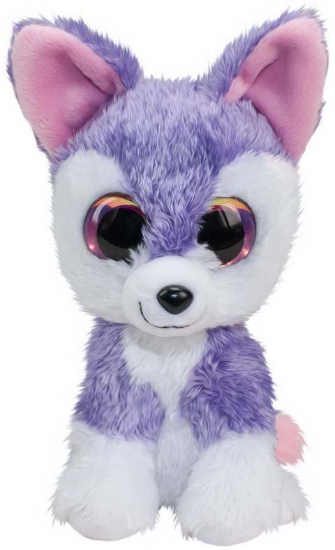 """Мягкая игрушка Lumo """"Волк Susi"""", цвет: фиолетовый, 24 см"""