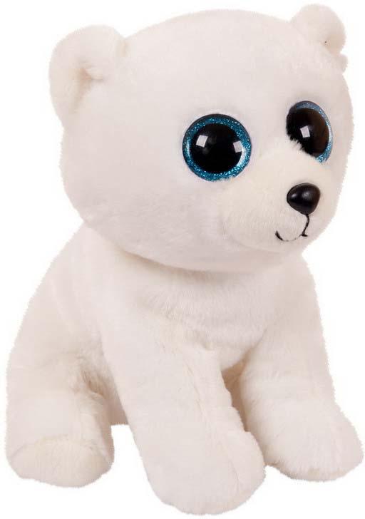 """Мягкая игрушка Abtoys """"Медвежонок"""", цвет: белый, 24 см"""
