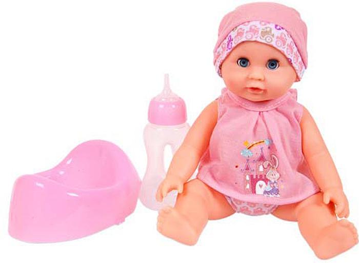 Кукла Abtoys, пьет и писает, с аксессуарами, 25 см