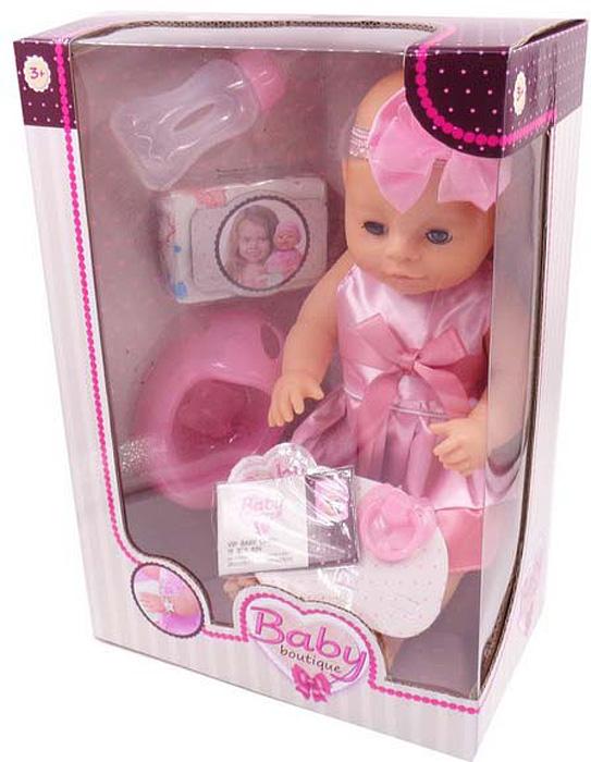 Кукла Abtoys, пьет и писает, с аксессуарами, 40 см