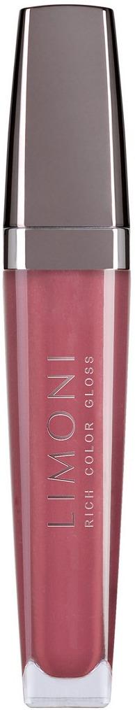 Блеск для губ Limoni Rich Color Gloss, тон 110, 7,5 мл limoni rich color gloss блеск для губ тон 102 оранжевый 7 5 мл