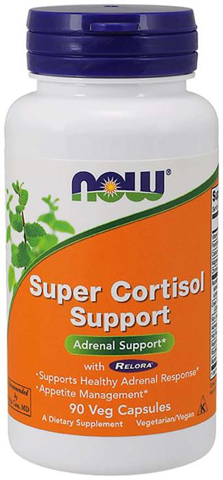 Витаминно-минеральный комплекс Now Foods Super Cortisol Support, 90 капсул