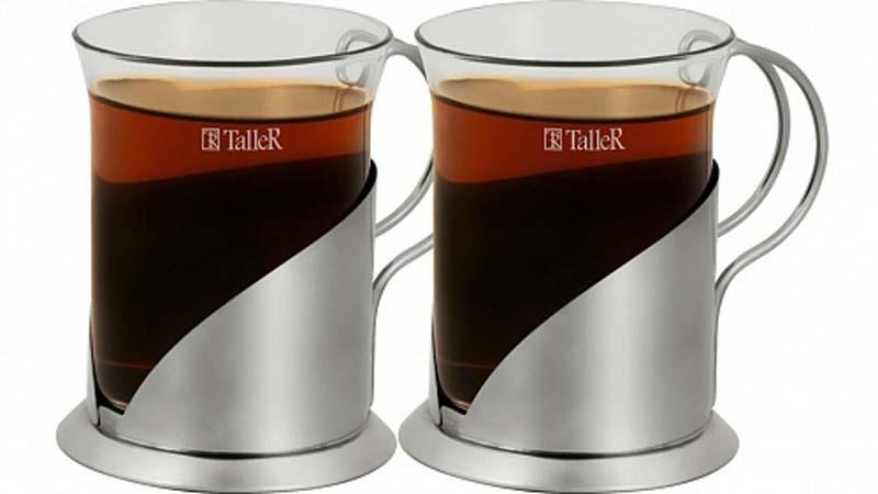 Чайная пара TalleR, 2 предмета. TR-2309 цена