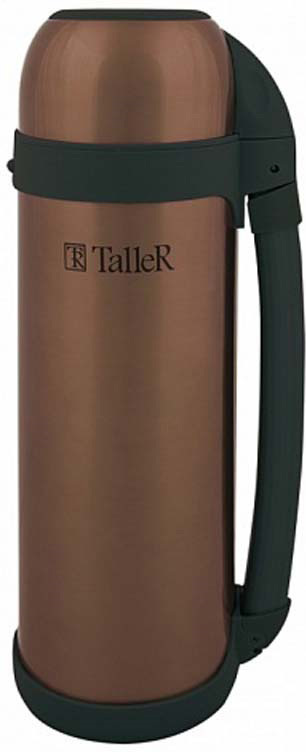 цена на Термос Taller Брэдфорд, цвет: коричневый, 1,5 л