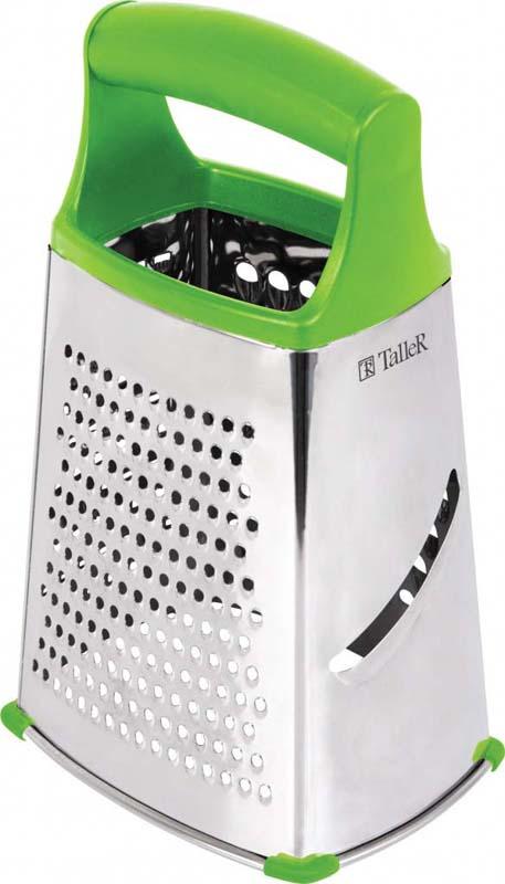 """Терка для продуктов Taller """"Ринн"""", цвет: зеленый, высота 22,5 см"""