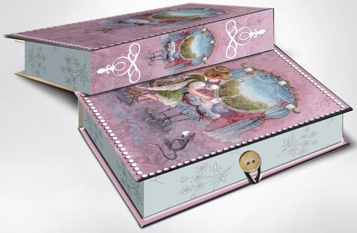 Коробка подарочная Magic Home Волшебное чаепитие. 42360 коробка подарочная magic home апрельский париж 42359