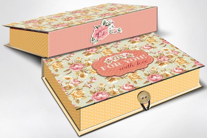 Коробка подарочная Magic Home Прованс. 42368 коробка подарочная magic home апрельский париж 42359