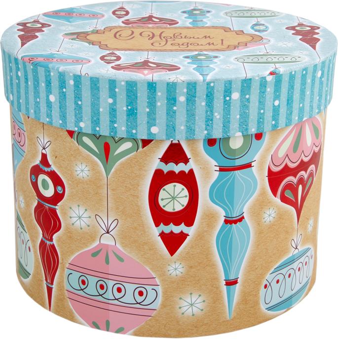 Коробка подарочная Magic Time Стеклянные сосульки, 16 х 16 х 12,5 см. 7845878458Оформление подарка - очень важный момент, который создает радостную атмосферу и подчеркивает внимание адресату. Одним из самых простых и быстрых способов упаковки подарка является выбор готовой подарочной коробки. Подарочная коробка выполнена из мелованного, ламинированного, негофрированного картона плотностью 1100 г/м2, с полноцветным декоративным рисунком на внутренней и наружной части. Яркий, красочный рисунок подарят праздничное настроение. В таком оригинальном оформлении презент точно не затеряется среди других, а наоборот, запомнится надолго.