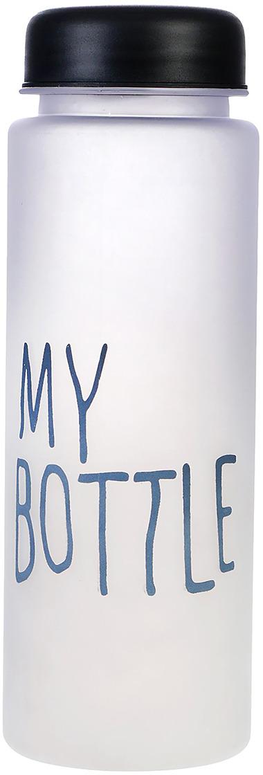 Бутылка для воды My Bottle, цвет: черный, 500 мл бутылка для воды my bottle в чехле цвет голубой 500 мл