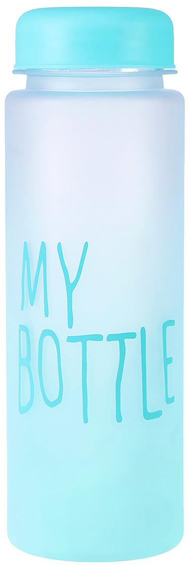 Бутылка для воды My Bottle, цвет: голубой, 500 мл бутылка для воды my bottle в чехле цвет голубой 500 мл