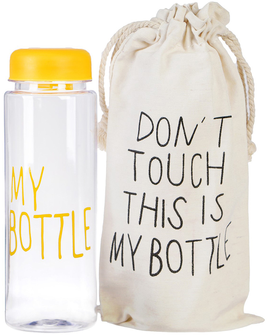 Бутылка для воды My Bottle, в мешке, цвет: желтый, 500 мл бутылка для воды my bottle градиент в мешке цвет желтый 500 мл