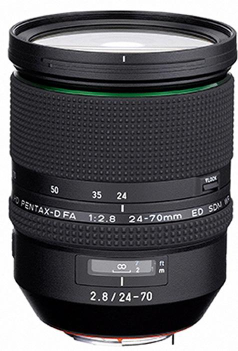 Объектив Pentax HD D-FA 24-70mm f/2.8 ED